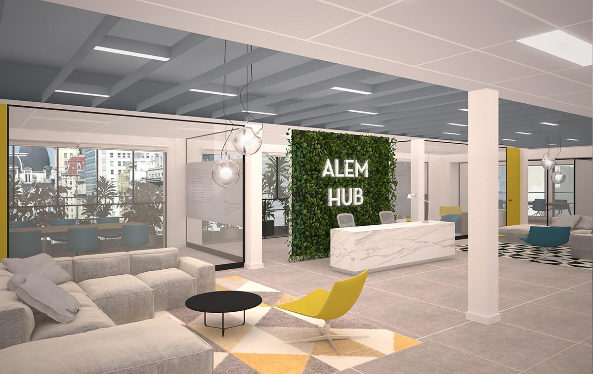 Diseño y Renders de Oficinas y Empresas. Estudio Cebra | Arquitectura Corporativa.